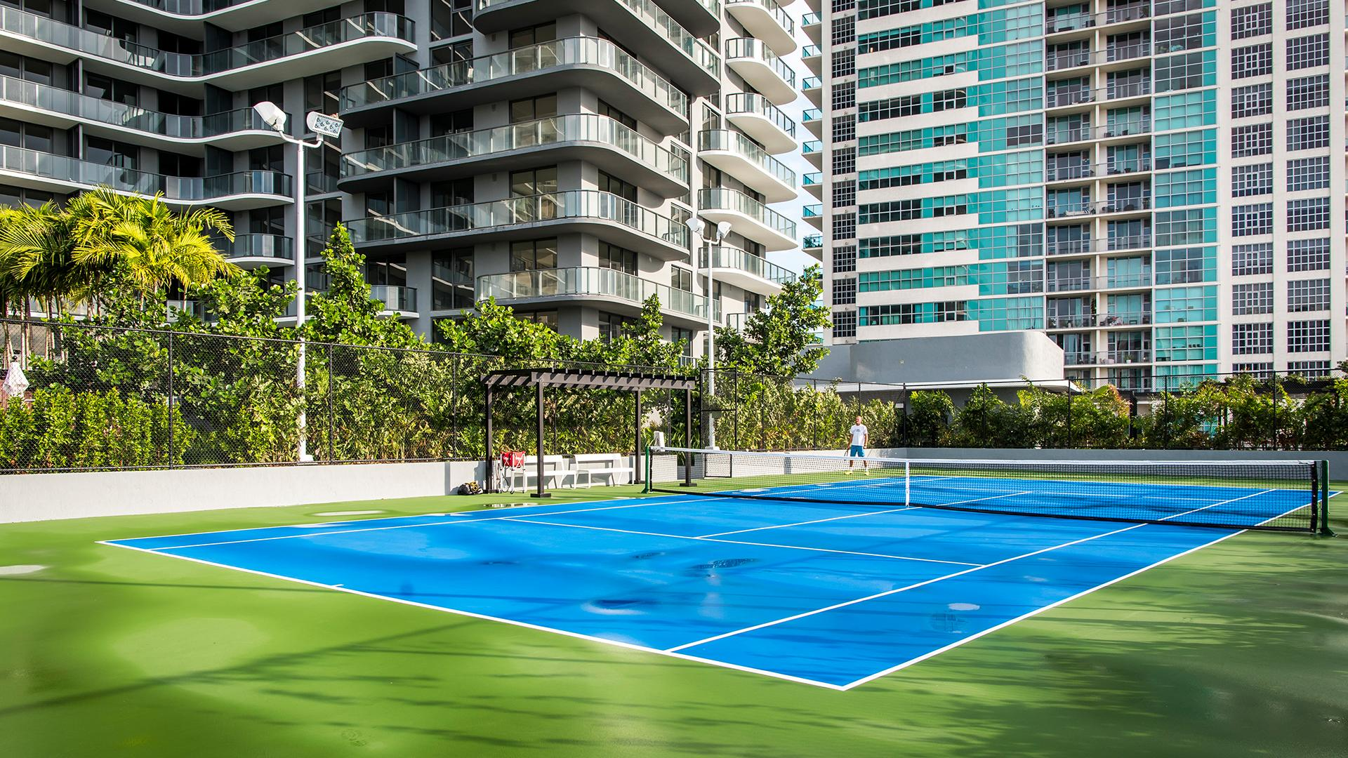 Court de tennis de Hyde Midtown